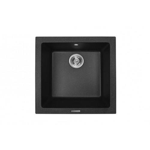 Chiuveta pătrată MONTEBELLA 480x500 (culoare cobra + sifon)