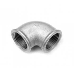 Cot 90 galvanizat 1/2 FxF