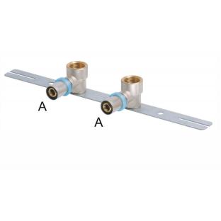 Rbm press. / Cot cu suport drept (150mm) 16x1/2 F