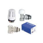 Set robinet tur-retur + cap termostatic 1/2 PPR EMMETI