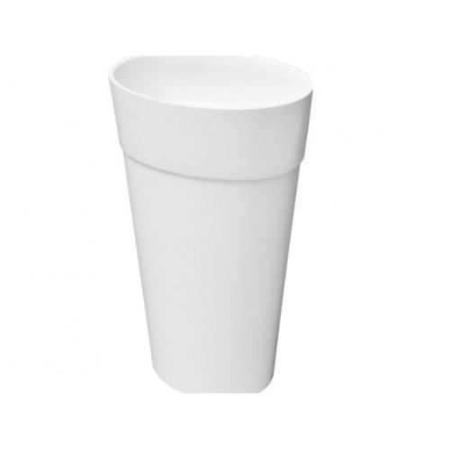 Lavoar Besco Uniqa 32x46x84, alb