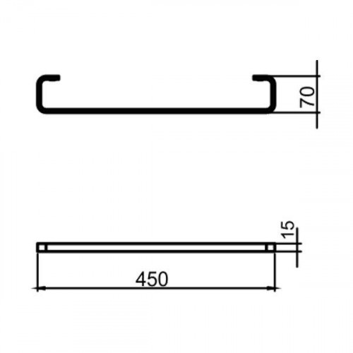 Portprosop Ferro METALIA 4 - 45 cm