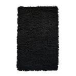 Covor de baie 50x80cm Rasta negru  100% coton