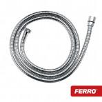 Furtun duș extensibil Ferro L-150-200cm (anti-torsiune)