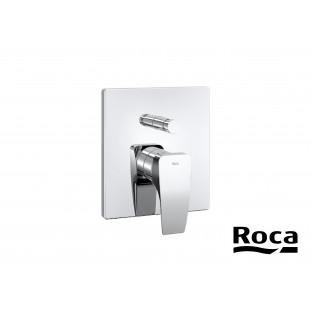 Baterie încastrată pentru cadă-duș cu deviator automat ROCA Thesis