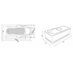 Cada FIBREX MARLENE 170x75 cm