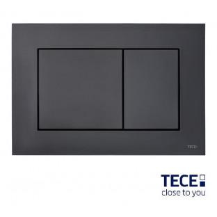 Clapetă neagră cu acționare dublă TECEnow pentru WC