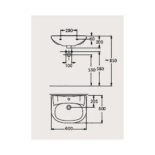Lavoar Zoom Neo 60x 47 cm