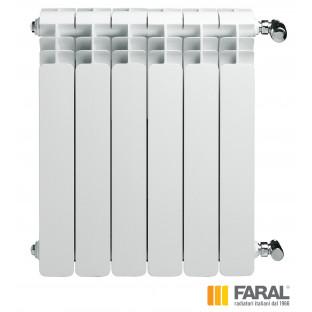 Radiator din aluminiu FARAL TRIO H500 N