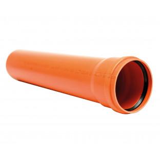 Teava PVC SN4MS dn. 110 L = 1m / 3.2