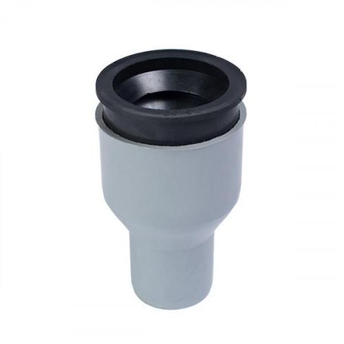 Conector PPR  trecere la fonta cu inel si garnit.d.110 x 124
