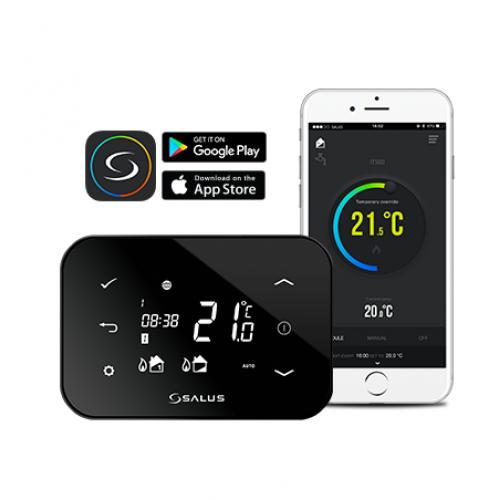 Termostat SALUS iT500, cu comanda prin internet