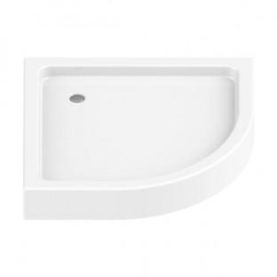 Cădiță duș NT Domio din acril cu panou integrat 90x90/H16