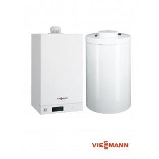 Pachet VIESSMANN Vitodens 100-W 26KW cu boiler Vitocell 120L