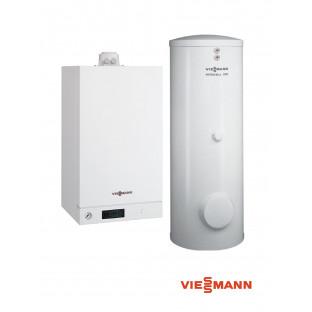 Pachet VISSMANN Vitodens 100-W 35KW cu boiler Vitocell