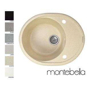 Chiuvetă ovală Montebella 577 x 447 mm (sifon inclus)