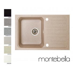 Chiuvetă dreptunghiulară Montebella 740 x 460 mm (sifon inlus)