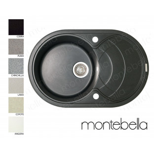 Chiuvetă ovală MONTEBELLA 780 x 500 (sifon inclus)