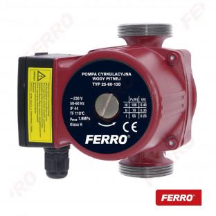 Pompa circulatie pentru apa potabila 25-60 130
