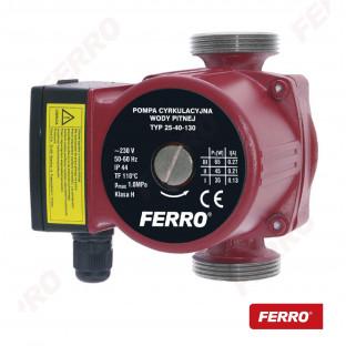 Pompa circulatie pentru apa potabila 25-40 130