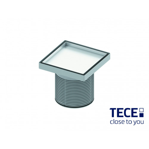 Sifon extraplat/placare ceramica TECEdrainpointS, ev.laterala DN50