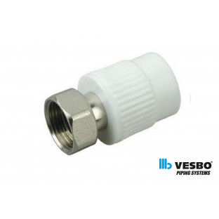 VESBO Racord PPR mixt cu olandez 25x3/4
