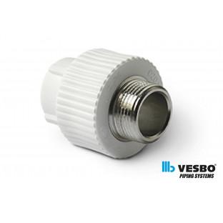 VESBO Reductie PPR p/m M 50x1 1/2