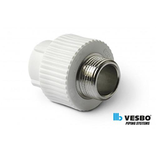 VESBO Reductie PPR p/m M 25x1/2