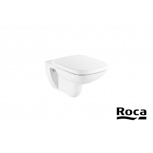 WC suspendat ROCA DEBBA SQUARE Clean Rim
