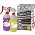CLEANEX OXI A+B - Agent curățare exterior schimbător de căldură