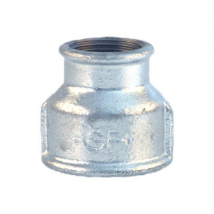 Mufa galvanizata redusa 1 1/2 x 1