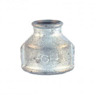 Mufa galvanizata redusa 1 1/2 x 3/4
