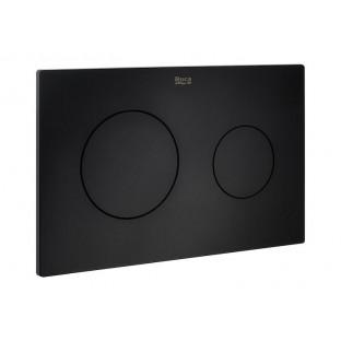 Clapetă dublă acționare PL10 (negru mat)