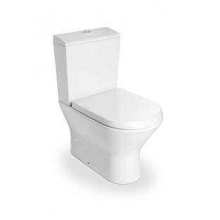 Vas WC NEXO, lipit de perete, cu evacuare duala COMPACT